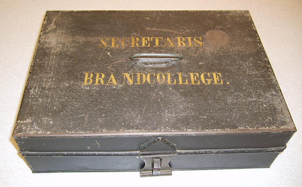 Secretaris Brandcollege Historisch-Brandweermateriaal Woerden